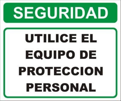 Propósito de los letreros, señales y tarjetas de seguridad
